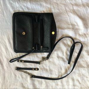 Nine West Bags - Black Nine West Chain Crossbody Bag/Clutch